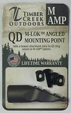 TIMBER CREEK OUTDOORS - M-LOK™ - ANGLED SLING MOUNTING POINT - CERAKOTE TUNGSTEN