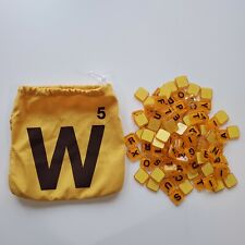 2012 Words With Friends Game 104 Replacement Letter Tiles Scrabble