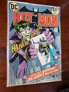 BATMAN #251 -NEAL ADAMS CLASSIC JOKER COVER!! No Reserve!