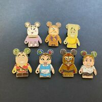 Vinylmation Collectors Set - Beauty and The Beast - 7 Pins Disney Pin 99154