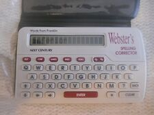 Webster's Spelling Corrector w Phonetic Spell Checker Puzzle Solver Office Words