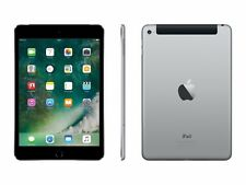 Apple iPad Mini 4 - 7,9'' - 128GB - Wi-Fi + Cellular - LTE - Spacegrau - NEU