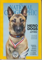 National Geographic June 2014 Hero Dogs, Peru, Puffins, Fish Farming; Siberia