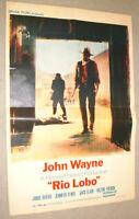 klein,Filmplakat,PLAKAT,RIO LOBO, JOHN WAYNE,Western-41