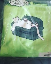 NEW! RipNDip Noodle Hoodie Size S & LIME GREEN