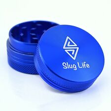 Slug Life Herb Grinder 2 Parts 1.5 Inch (Blue)