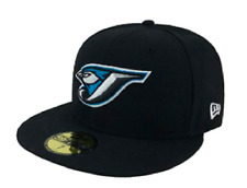 Men's Toronto Blue Jays Retro Black Cooperstown 59fifty Fitted New Era Hat 7