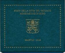 Vatikan Euro-KMS 2018 BU 8 Münzen 3,88 €, 1 Cent - 2 €, sofort lieferbar!