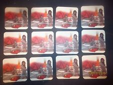 12  JIM BEAM Bourbon  Spirits collectable COASTERS     SURFING