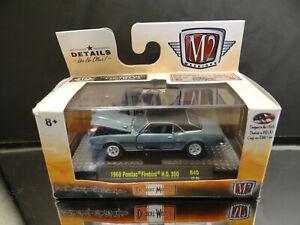 M2 Machines Detroit Muscle 1:64 1968 Pontiac Firebird HO 350 Limited