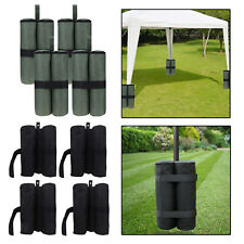 4Pcs Weight Bags Sand Bags for up Canopy Trampoline Patio Furniture