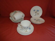 Wedgwood fine bone china Ice Rose Cup Saucer Side Plate Trio  x 5 + more