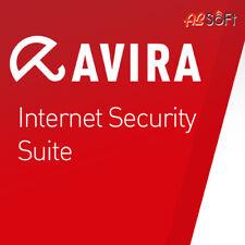 AVIRA INTERNET SECURITY SUITE 2020 1/ 3/ 5 Geräte 1,2 oder 3 Jahre Laufzeit ESD