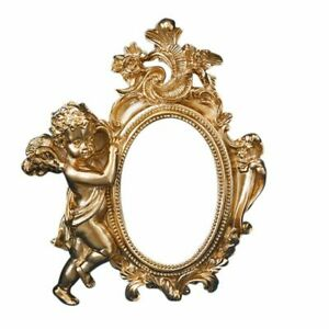 Small Ins Golden Photo Frame Photography Props Background Decoration & Ornaments