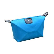 TURQUOISE BLUE MAKEUP BAG / COSMETICS / PENCIL CASE