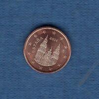Spanien - 2014 - 1 Penny Euro - Münze Neu Rolle