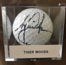 TIGER WOODS SIGNED AUTOGRAPHED AUTO GOLF BALL BEAUTIFUL SIGNATURE RARE FIND!