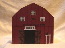 Vintage The Cat's Meow Victorian Wooden Building Echo Ledge Farm Barn
