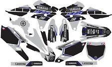 Gray YAMAHA GRAPHICS  YZ 250f YZ250f YZF 2014 2015 2016 2017 2018