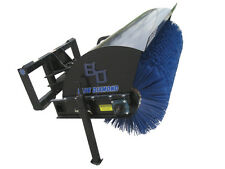 Blue Diamond Poly Bristle Set for 72 Inch Rotary Broom Skid Steer Attachment