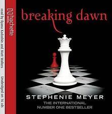 Twilight, eclipse, Breaking Dawn CD Audiobooks Complete Set Stephanie Mayer