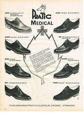 PUBLICITE ADVERTISING   1961   PRATIC MEDICAL   chaussures confort & élégance