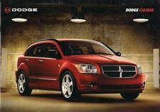 Dodge Caliber 2006-07 German Market Sales Brochure SXT R/T SE S