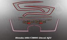 HONDA 1982 CB650 NIGHTHAWK KIT DECALS GRAPHIC LIKE NOS
