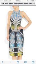 Peter Pilotto Donna Multi Colore DRESS. NUOVO con etichetta Taglia UK 8