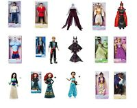 Disney Tienda Clásico Muñeca Película Muñecas Toys Rapunzel ALADDIN Mulan Merida
