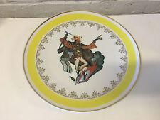 Vintage Chodziez / Cmielow Polish Porcelain Plate Zbojnicki Bandit / Robber Dec.