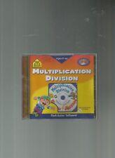 School Zone: Multiplication & Division (Win/ Mac), VG