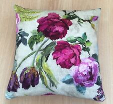 "Designers Guild Tulipani Linen Cushion Cover 17"" BN"