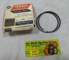 NOS YAMAHA Snowmobile SL338 Piston Ring .25mm 806-11601-10 OEM