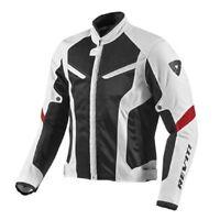 Giacca estiva moto Rev'it Revit GT-R Air white Black bianco nero summer jacket