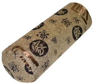 Bolster Cover*Chinese Chenille Neck Roll Tube Yoga Massage PillowCase Custom*Wk9