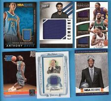 WILLIE CAULEY-STEIN ROOKIE CALIPARI RELIC ANTHONY DAVIS RANDLE JERSEY JOHN WALL