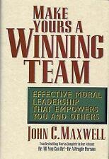 Make Yours a Winning Team by John C. Maxwell - EUC