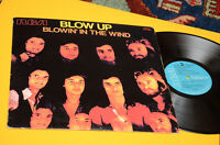 Blow Up Bob Dylan LP Blowin' IN The Wind Orig Italy 1974 EX Top Rare