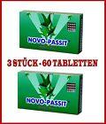 NOVO-PASSIT 60 tablets insomnia sedative  migraine natural herbal derivative