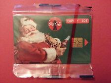 10 $ PERE NOEL CHRISTMAS COCA COLA CANADA BELL B10028 NSB MINT BLISTer coca-cola