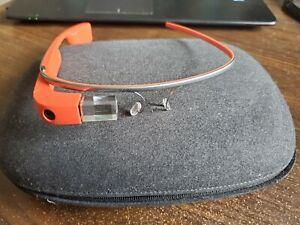 Google Glass XE-12 Explorer Edition Tangerine Glasses