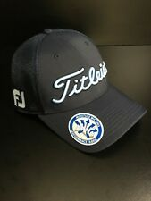 Titleist Tour Mesh Trend Collection Fitted Hat Cap Navy Light Blue XL/XXL NEW