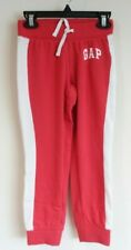 BN ~ Gap Kids Winter Red Sweatpant Joggers Girl's Size XXLarge / 14-16