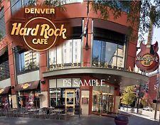 Denver - HARD ROCK CAFE - Travel Souvenir Fridge MAGNET