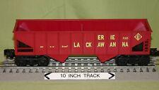 K-Line 5315 Erie Lackawanna 2 Bay Hopper (O/027 Freight Car) wks w/ Lionel 1987