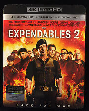 The Expendables 2 (4K Ultra HD+Blu-ray+Digital HD) ** New & Sealed **