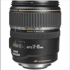 Canon EF-S 17-85mm f/4.0-5.6 IS USM Lens EOS