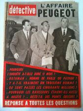 DETECTIVE 17/03/61   L'affaire Peugeot