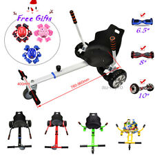 Hover Go Kart for Electric Scooter Adjustable Cart Racing Seat Self + FREE GIFTS